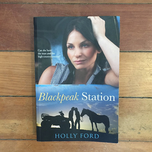 Blackpeak Station by Holly Ford (soft cover, good condition)