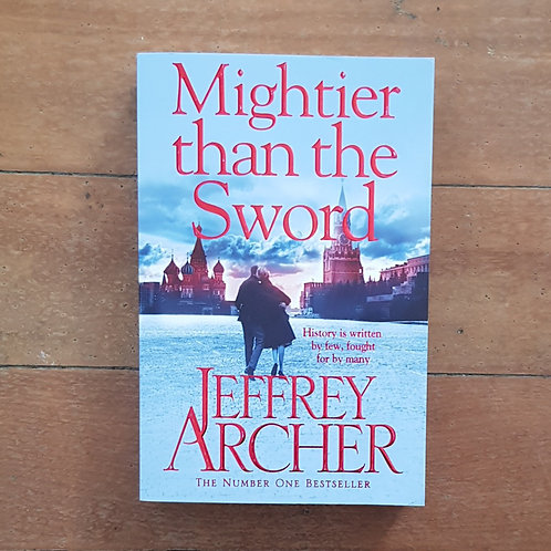 Mightier than the Sword by Jeffrey Archer (soft cover, very good condition)