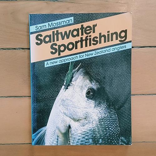 Saltwater Sportfishing by Sam Mossman (soft cover, good cond)