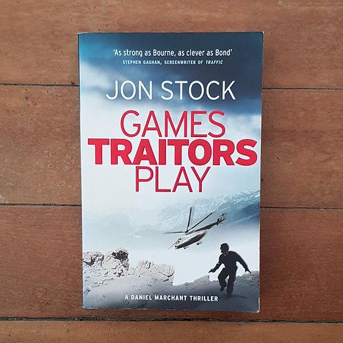 Games Traitors Play (Legoland  #2) by John Stock Monroe (soft cov, good cond)