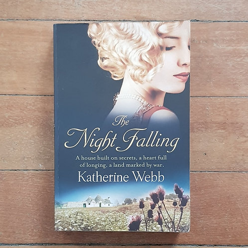 The Night Falling by Katherine Webb (soft cover, good condition)