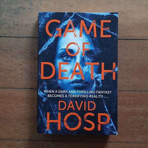 Game of Death by David Hosp (soft cover, good condition)