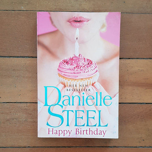 Happy Birthday by Danielle Steel (soft cover, good condition)