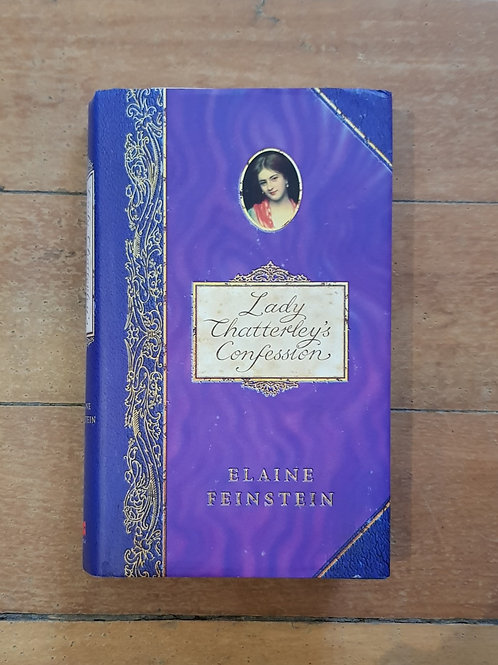 Lady Chatterley's Confession by Elaine Feinstein (hard cover, great condition)6.