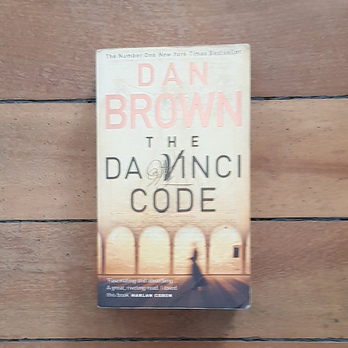 The Da Vinci Code by Dan Brown (soft cover, fair codition)