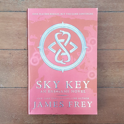 Sky Key (Endgame #2) by James Frey (soft cover, good condition)