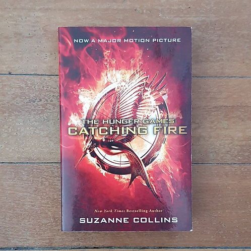 Catching Fire (The Hunger Games #2) by Suzanne Collins (soft cover, good cond)