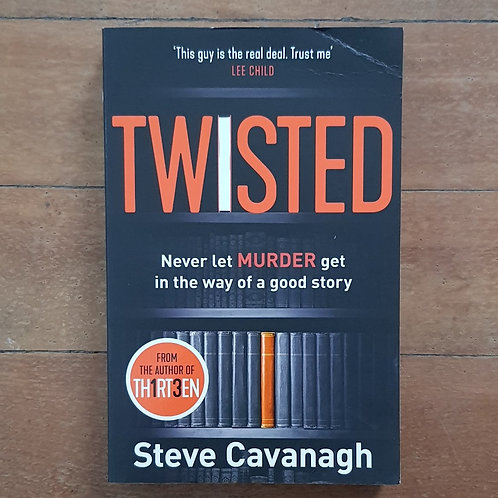 Twisted by Steve Cavanagh (soft cover, good condition)