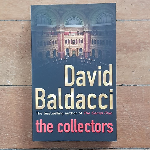 The Collectors by David Baldacci (soft cover, v. good condition)