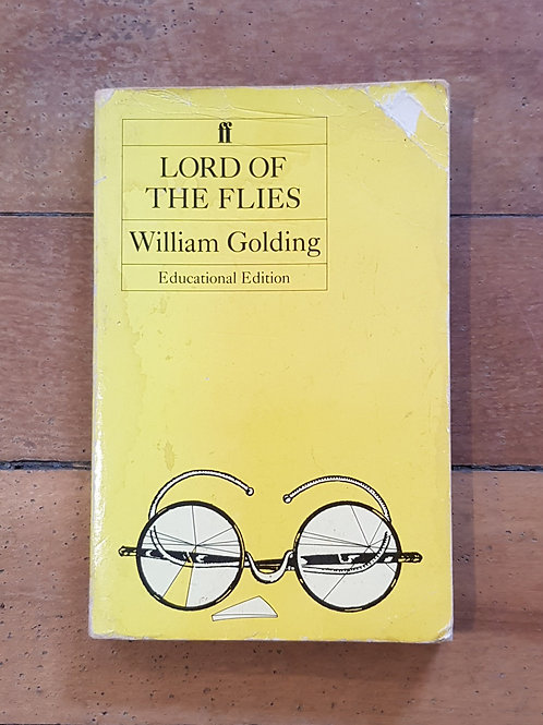 Lord of the Flies by William Golding Educational Edition (sc, fair condition)