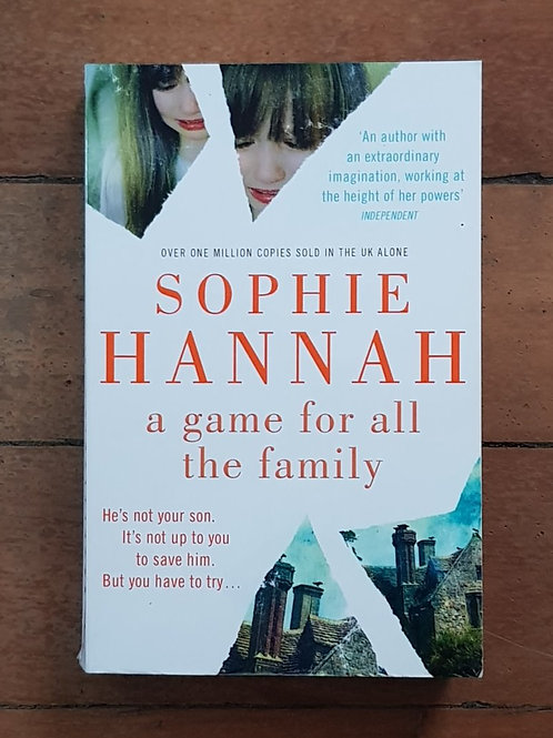 A Game for all the Family by Sophie Hannah (soft cover, good condition)