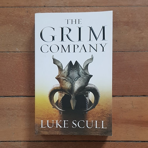 The Grim Company by Luke Scull (soft cover, V good condition)
