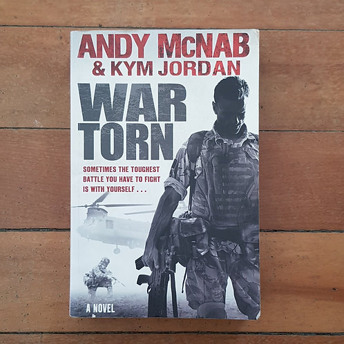 War Torn by Andy McNab, Kym Jordan (soft cover, fair condition)