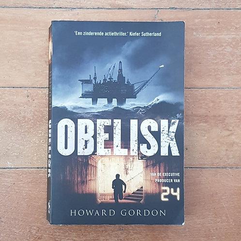 The Obelisk (Gideon Davis #1) by Howard Gordon (language = GERMAN) (good cond)
