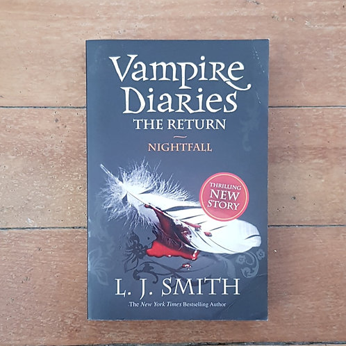 Nightfall (The Vampire Diaries: #1) by L.J. Smith (soft cover, v.good cond)