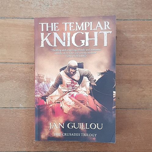 The Templar Knight by Jan Guillou (soft cover, good condition)