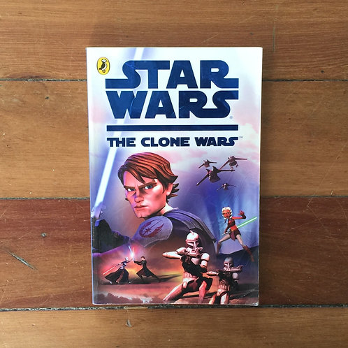 Star Wars the Clone Wars adapted by Tracey West (soft cover, fair condition)
