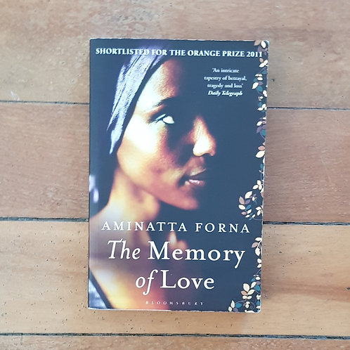 The Memory of Love by Aminatta Forna (soft cover, good condition)