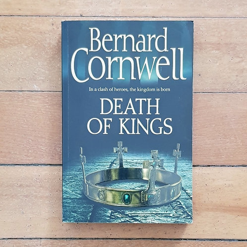Death of Kings by Bernard Cornwell (soft cover, good condition)