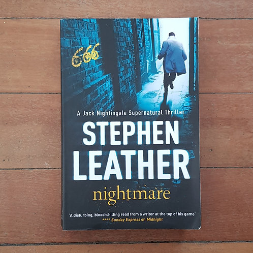 Nightmare (Jack Nightingale #3) by Stephen Leather (soft cover, good condition)
