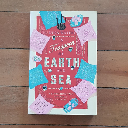 A Teaspoon of Earth and Sea by Dina Nayeri (soft cover, very good condition)