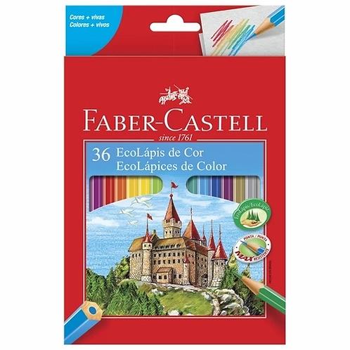 Lápis de Cor 36 Cores - FABER CASTELL