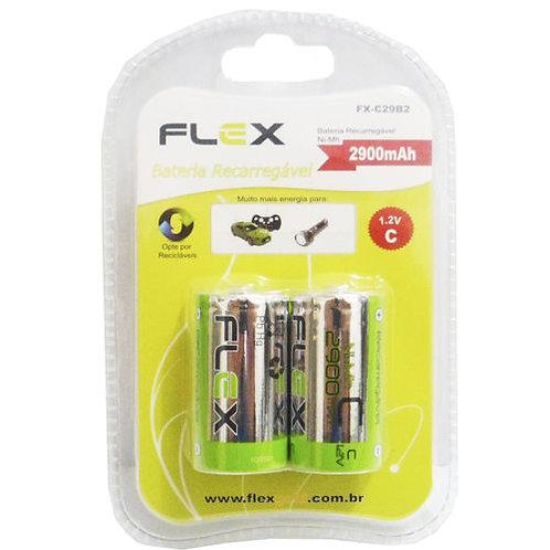 Pilha Recarregável FX-C29B2 - FLEX