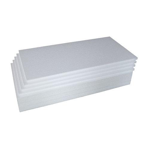 Placa de Isopor Branco/100x50