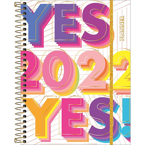 Agenda Espiral Planner Be Nice M7 - TILIBRA