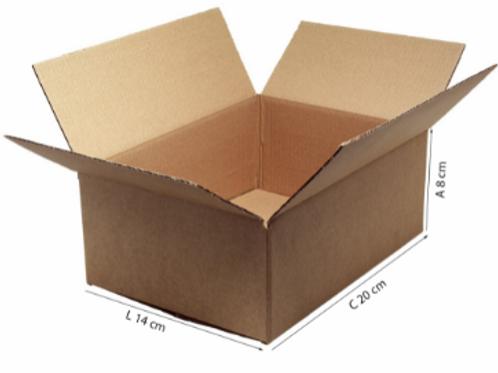 Caixa Transporte J 20 cm x 14 cm x 8 cm - DELLA