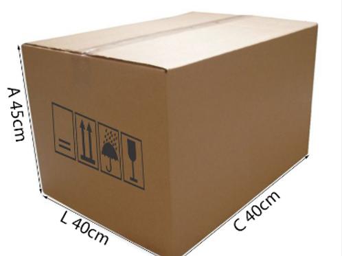 Caixa Transporte 3 40 cm x 40 cm x 45 cm - DELLA