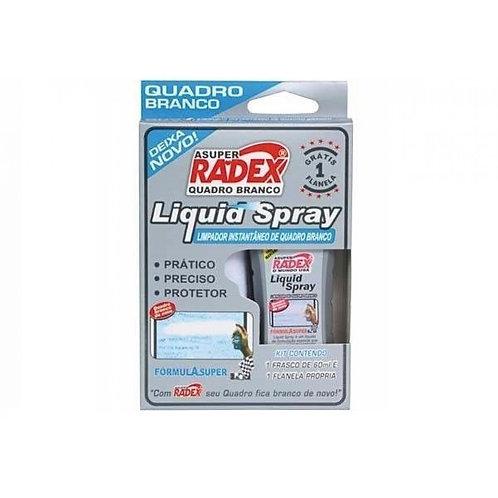 Limpador de Quadro Branco C/1 Frasco de 60ml - RADEX