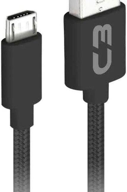 Cabo Micro USB 1M Preto - C3TECH