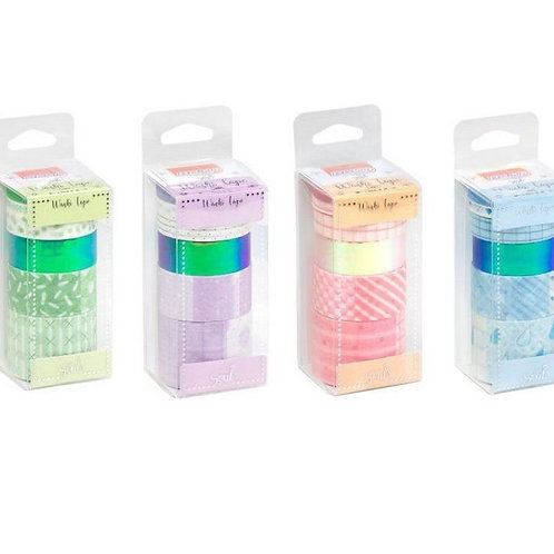 Washi Tape Candy C/ 6 Rolos - BRW