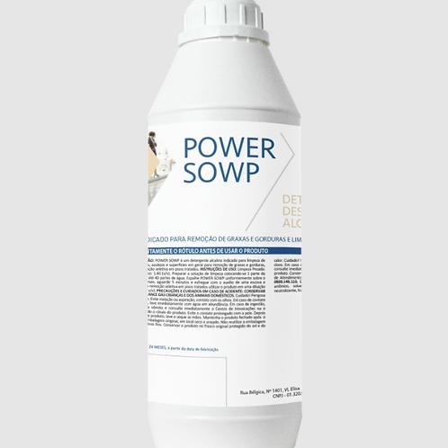 Detergente Alcalino Power Sowp 1L - PEROL