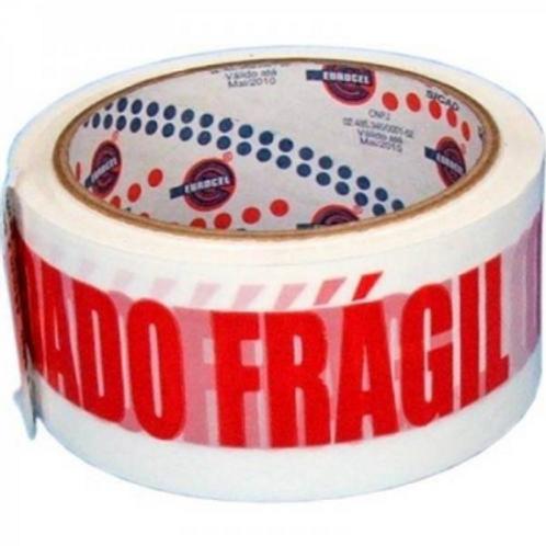 Fita Cuidado Frágil 48X50M - EUROCEL