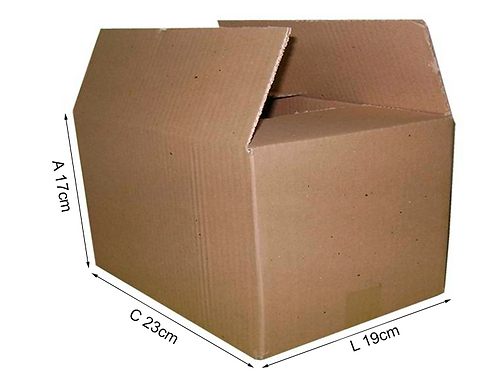 Caixa Transporte L 23 cm x 19 cm x 17 cm - DELLA