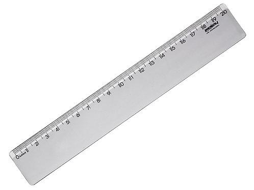 Régua Cristal de 20cm New Line - WALEU
