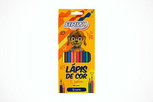 Lápis de Cor C/ 12 Cores - BRW