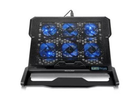 Cooler P/ Notebook C/ Base Ergonômica - Multilaser
