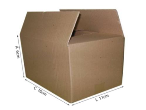 Caixa Transporte A 16cm x 11cm x 6cm - DELLA