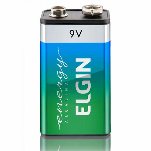 Pilha Alcalina 9V - ELGIN