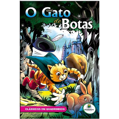 Clássicos em Quadrinhos - O Gato de Botas - TODOLIVRO