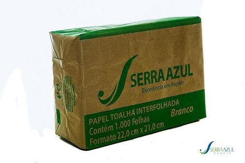 Papel Toalha de Mão C/1000 FLS Ecofolhas Branco - SERRA AZUL