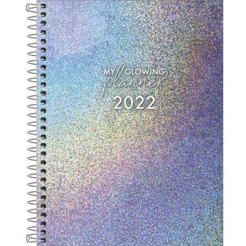 Agenda Espiral Planner Glowin M7 - TILIBRA