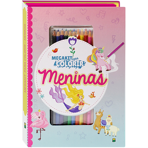Kit Colorir Meninas - TODOLIVRO