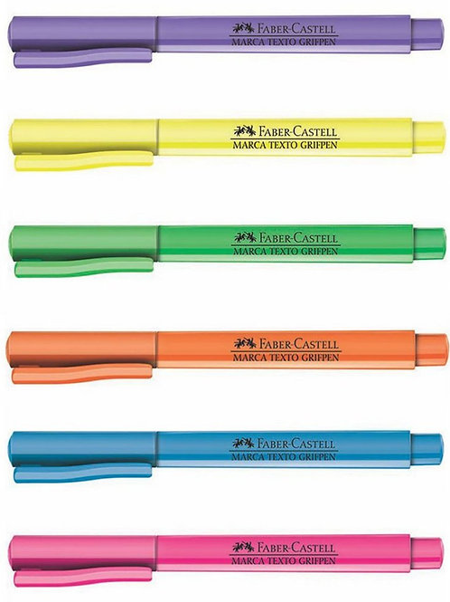 Marca Texto GRIFPEN Cores - Faber Castell