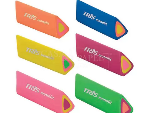 Borracha Monolit Cores Neon - TRIS