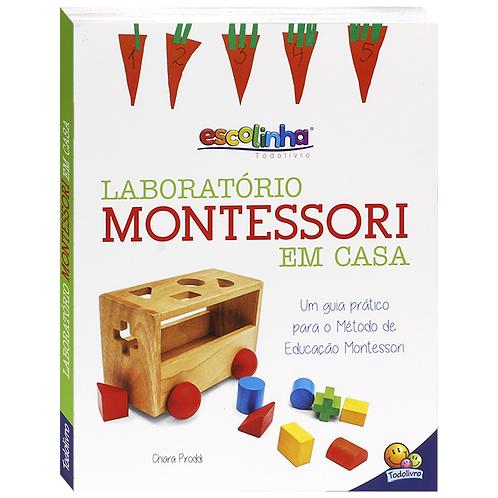Livro Laboratório Montessori em Casa - TODOLIVRO