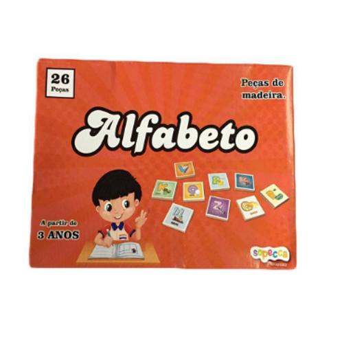 Alfabeto Móvel C/ 26 Peças - SOPECCA